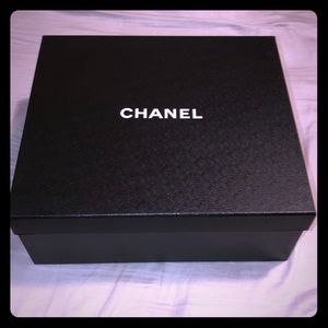 Chanel collectible shoe box